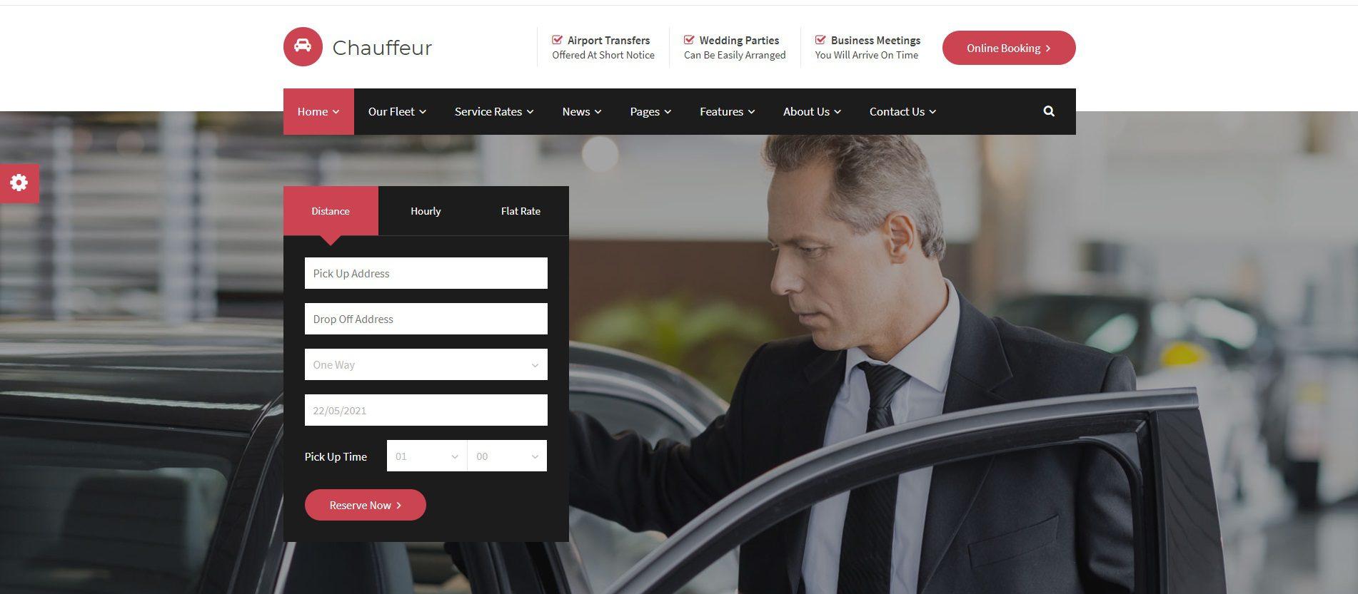 site internet vtc